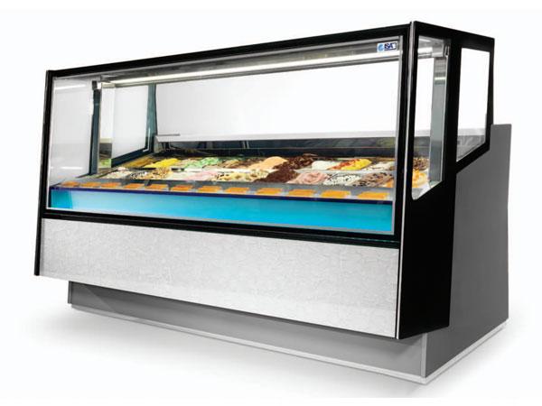 vitrina za gelato kaleido